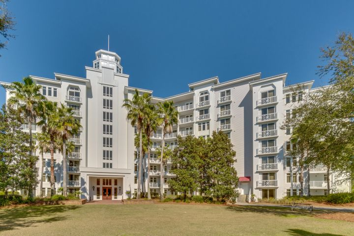 "A-rated on Sandestin Rental on the 4th floor with a Juliette balcony overlooking the lovely Grand Gardens. Enjoy recent improvements including a new HVAC air handler-2016, new queen sleeper sofa-2017, new side tables, coffee table, & tv stand -2018, new paint-2019, and new carpet-2013. This resort condo is being sold fully furnished and rental ready. The laundry facility is conveniently located on the same floor. Elation is located adjacent to the fabulous shopping, formal and informal dining and night life hot spots in the pedestrian Village of Baytowne Wharf. Owners also have access to the private Solstice Club, an amenity for owners and their guests, featuring grills, screened porch with gas fireplace, indoor bar, flat screen TV and comfortable seating inside and out. As an introduction to the Sandestin lifestyle, we invite our new owners to explore amenities that make Sandestin special. The listing brokerage and seller(s) are presenting the buyer(s) of this property with (2) 90-minute rounds of Tennis court time, a golf foursome at one of our three championship courses, a round of golf for up to four (4) players and an invitation to ""Club Night"" at the unrivaled Burnt Pine Golf Club.