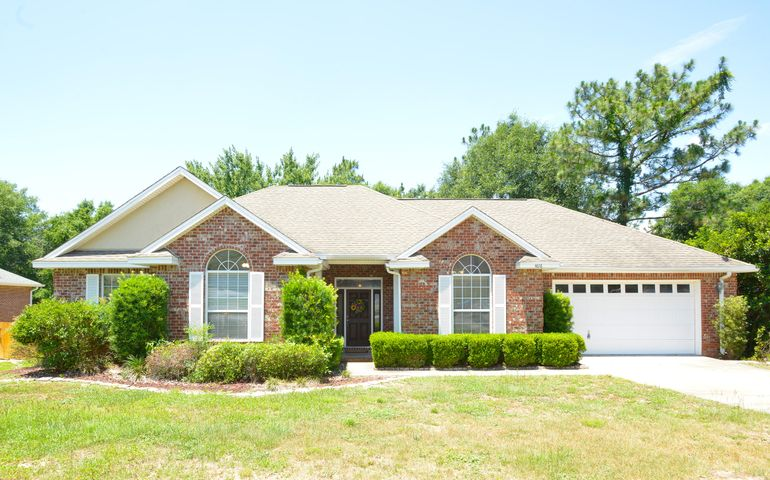 All Brick Home with Dimensional Shingle Roof.