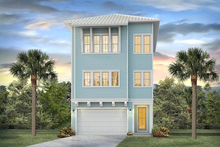11 E Crabbing Hole Lane, Lot 09, Inlet Beach, FL 32461