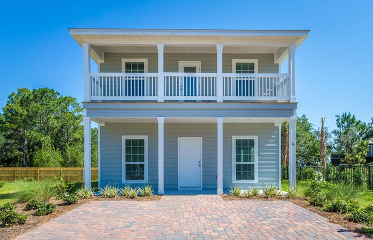 Tranquility by the Bay is now available! The home features fabulous full length balconies off living room and Master Suite to view the bay sunsets and feel the tranquil Bay breeze. Community is steps from the Bay and minutes from Beaches and the Gulf. Intimate community in the heart of Santa Rosa Beach. Tranquility by the Bay is a pool community of only 15 homes. Nearby is a public park with boat launch, basketball courts, great kayaking and paddle boarding. Home has beautiful flooring throughout and granite countertops, upgraded appliances, and fixtures. Plenty of storage with a storage room off of the back deck. Tenant to verify all dimensions. Hurry, this won't last long!