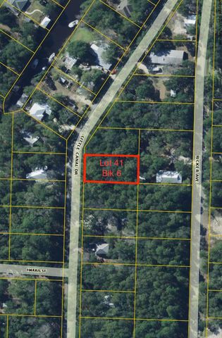 Lot 41 Little Canal Drive, Santa Rosa Beach, FL 32459