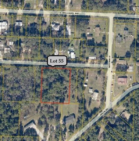 xxx Lot 55 Shoffner Avenue, Crestview, FL 32539
