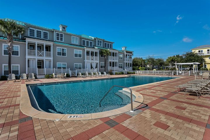 This 3 bedroom and 2 bathroom condo is located in the heart of Blue Mountain beach in gated community of Village at Blue Mountain Beach. This unit has never been rented and it shows in the clean airy space. The large covered balcony is the perfect place to rest after spending the day at the beach. It is just steps to 30A and walking distance to new and well established restaturants (as well as new retail/dining being built at entrance of Village). The community has large swimming pool, gathering area, grills and work out room. This unit features upgraded flooring, countertops and appliances. The opportunity to own along 30A in short distance to the beach beach 3 bedrooms under $300k is possible with this amazing private unit. **** Buyer is responsible for personally verifying details about this property. Any information contained in this listing is believed to be accurate but is not guaranteed****