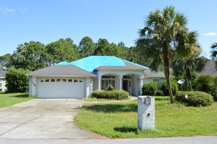 Currently under contract, seller accepting back up offers. 3BR/3BA home in prestigious Glades Subdivision with an inground pool & hot tub. Open floor plan. Home has electronic metal hurricane shutters. Home has hurricane damage. Split bedroom fl plan. Seller requests a proof of funds with all offers.