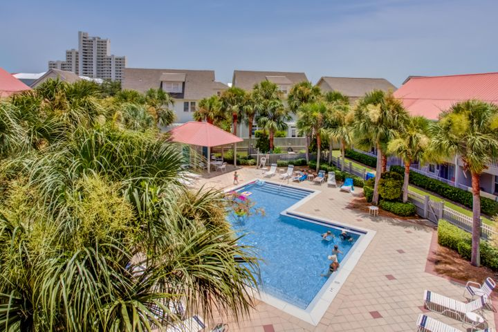 Lowest priced 3BR condo on the east side of 30A!!! Amazing rental history in excess of $32K!!! Top floor unit overlooking the pool. Walk / Bike to restaurants, shops, concerts and the events in Seaside and Watercolor. Beautifully decorated and rental ready. Sold fully furnished.