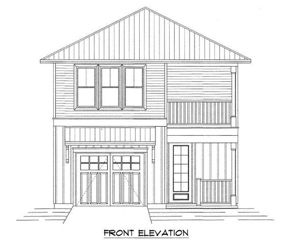 New home construction 1 block from the Bay in S Walton close to the beaches, restaurants and shopping of 30A. Coastal homes with 3 and 4 bedroom plans starting in the low $300's. The Carlie I Porch, with 1,715 sq ft, 3 bedrooms, 2 full baths, half bath on the main floor and garage is under construction. The main floor with 9' ceilings, modern trim, ceramic wood flooring lead the way to the open concept living/dining/kitchen area. The spacious kitchen with counter seating and quartz counter tops makes room for everyone. The second floor Master suite with walk in closet and private covered balcony make this a retreat for certain. Along with a soaking tub, separate shower and double vanities. Two guest rooms, a full bath with tub/shower combination and laundry room complete the second floor.