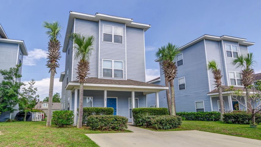 Enchanted Estates is truly enchanted with it's community pool, dog walk, playground.  Minutes from the beaches, shopping, dining, entertainment.New Dishwasher and stove.  Make this Florida cottage your primary home or vacation home.