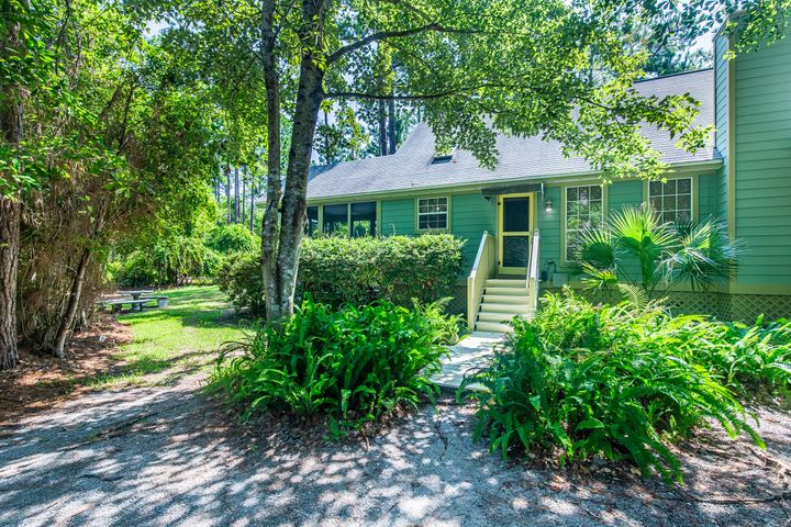 This private and secluded Beach house in the woods is located on TWO double lots surrounded by mature trees and nature. With easy access to the Choctawhatchee Bay just down the street, enjoy fishing, kayaking or paddle boarding, it's still located close to the beaches of 30A with a plethora of dining and entertainment optionsgiving you the best of both worlds!Featuring vaulted ceilings, 3 bedrooms, 2 bathrooms, hardwood floors, fireplace and plenty of outdoor spaces for entertaining and relaxing. Partially fenced with a storage building, the expansive yard makes it perfect for gardening and pets.Multiple options to expand the current home or split the lots and build additional homes. Truly a Rare Find.