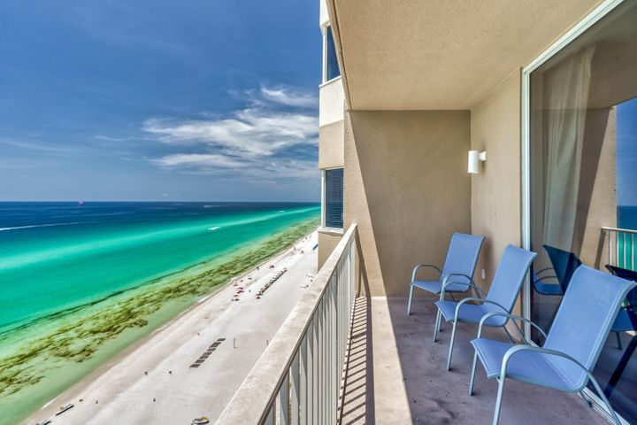 Welcome to another beautiful one bedroom, two bathroom with bunks in the hallway, a sleeper sofa in living area and large open kitchen!  Sleeping 6 is easy in this gulf front condo at Tidewater Beach Resort in Panama City Beach, Florida.  The views are endless from this mid-level floor height.  Tidewater 1406 has a demostrated rental history with the on-site rental company.  This condo is offered fully furnished and turn key for the next owner.  Prices around Pier Park keep going up!!