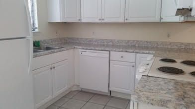 Nice townhouse which has been recently upgraded on the inside with new appliances, cabinets, vanities and paint, window blinds.  New roof just completed for this unit. Unit has been great as a long term rental or would make a great starter home.