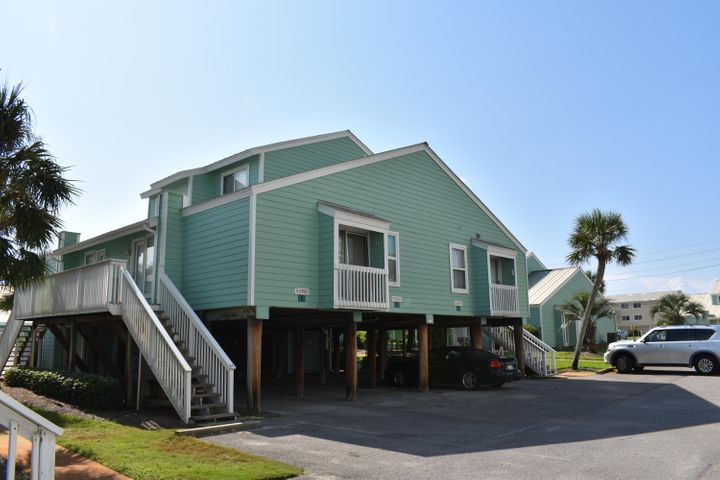 ** 2 units side by side potentially could be joined together ** Kitchen & Bathrooms remodeled  past 2yrs. * Not rented in 10 yrs., seldom used as 2nd home * Park underneath 2 tandem spaces & storage in carport *  AS IS * HOA owns 100ft. of beach with Gazebo, Heated Pool usually 6mos. of winter * Picnic Area with Grills *   Adjacent to Surfside, close to Whale's Tail & Seascape Golf Resort * October Owners to discuss possible special assmt. for roofs, take super majority vote of owners to pass *  Sq.Ft. approximate, depends how much of attic a unit has converted into bathroom & if loft been extended out about 3 ft. & enclosed for privacy.  Willa Merriott Realty HOA Manager & listing agent, rents majority of the rental units on property * Pets are allowed *