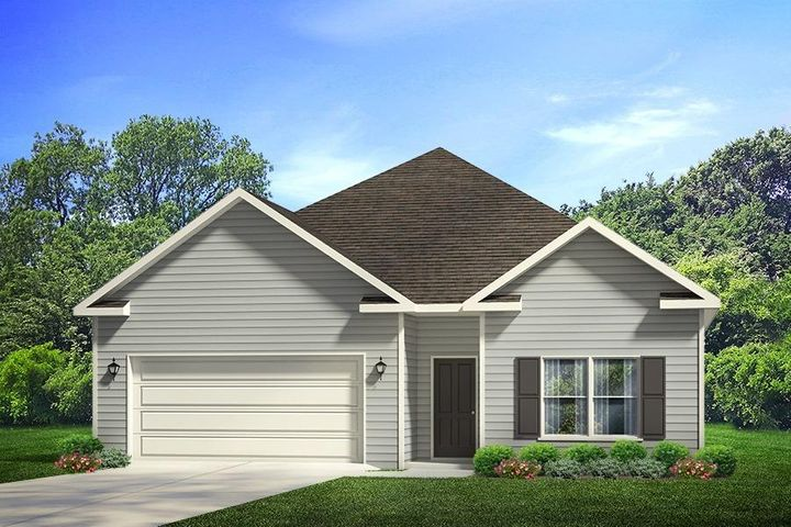New construction in the very heart of Santa Rosa Beach! Location is key to this quaint coastal style community of Stonegate. This Rhett plan is located in a quiet corner of the community backing up to state forest where you can view the sunsets from your covered back porch. Elementary, middle and high school, Publix, movie theaters, dining and shopping are all within a short drive from Stonegate!  This new home conveys with a Smart Home package, Kenetico water filter, large kitchen island with storage, walk-in kitchen pantry, superior walk-in Master closet, 11 ft. coffered ceilings and so much more! Have peace of mind with new construction warranties from the Nations number one builder. Personalize your colors in your new home minutes from the beaches of the Emerald Coast