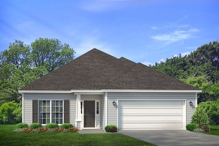Why rent when you can buy NEW? New construction in the very heart of South Walton priced in the $300's! Two minute drive to Grand Blvd., Sacred Heart Hospital, local dining, shopping and of course the pristine beaches of the amazing Emerald Coast! The Bailey features 1 story living with 10ft. tray ceilings, Frigidaire appliances, wood look vinyl plank flooring, solid surface granite countertops, new ''smart home package'' featuring z-wave technology, keyless entry and much more. This home backs up to state owned land for a peaceful wooded view. Secure your new home today to select colors and options! Call for a private community tour Pictures, photographs, floor plans, elevations, features, colors and sizes are approximate for illustration purposes only and will vary from the homes as built. Home and community information including pricing, included features, terms, availability and amenities are subject to change and prior sale at any time without notice or obligation. For Move-In/Completion Estimates: Ready dates are estimates only. Timing of completion of construction and buyer move-in are subject to contingencies contained in home purchase agreement and governing jurisdictions issuance of a certificate of occupancy, and may change due to forces majeures and other delays or disruptions outside the reasonable control of D.R. Horton, Inc.