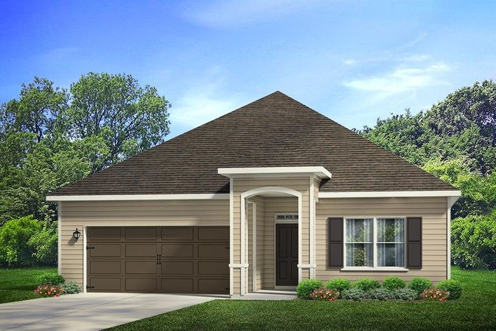 Welcome to Stonegate! South Waltons brand new construction community built by the leading builder in the Nation for over 15 years! Beautiful four bedroom ranch home that has the WOW factor the moment you walk into the front door. Light EVP flooring, hand painted cabinets, granite countertops,new SMART HOME PACKAGE and more are a few standard features of this new home. Gorgeous kitchen open to the family room separated by a large kitchen island with storage and huge walk in pantry. Sit out on your covered with a view of state forest while enjoying your coffee in the mornings. Call or stop by today to secure your new home while choosing your own colors in your new home! Pictures, photographs, floor plans, elevations, features, colors and sizes are approximate for illustration purposes only and will vary from the homes as built. Home and community information including pricing, included features, terms, availability and amenities are subject to change and prior sale at any time without notice or obligation. For Move-In/Completion Estimates: Ready dates are estimates only. Timing of completion of construction and buyer move-in are subject to contingencies contained in home purchase agreement and governing jurisdictions issuance of a certificate of occupancy, and may change due to forces majeures and other delays or disruptions outside the reasonable control of D.R. Horton, Inc.