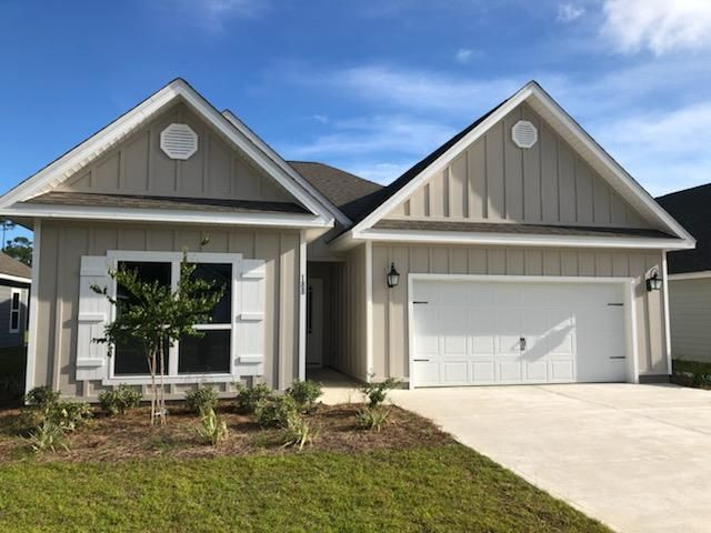 Under Contract with Contingency - Seller will take back up offers. Introducing the increasingly popular Muli-Generational home in South Walton minutes from the beach. Our Kennedy plan features two Master Suites, two full size kitchens, laundry facilities, private bathrooms and even multiple separate living areas the entire family can comfortably enjoy, all on one level.  Enjoy light and bright colors throughout, engineered vinyl plank flooring for easy maintenance, Frigidaire appliances, Moen fixtures, and peace of mind builder warranties. Call today for your private showing of the community!