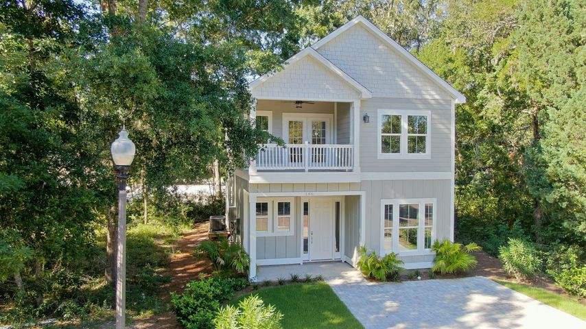 Brand NEW Construction in beautiful Sacred Oaks! The Stockton plan offers 3 bedrooms and 3 bathrooms. This home boasts beautiful designer finishes, an open concept living space, as well as guest bedroom and full bath downstairs! Features include custom tile in the kitchen and bathrooms; brick driveway; 10 foot ceilings; and energy efficient HVAC systems.  This wonderful waterfront community offers beautiful walking paths, large green spaces and a community dock. The HOA has approved a community pool as well.  Located within minutes of Grand Boulevard; this community offers incredible access to the bay, the beach, world-class shopping and high-end dining.