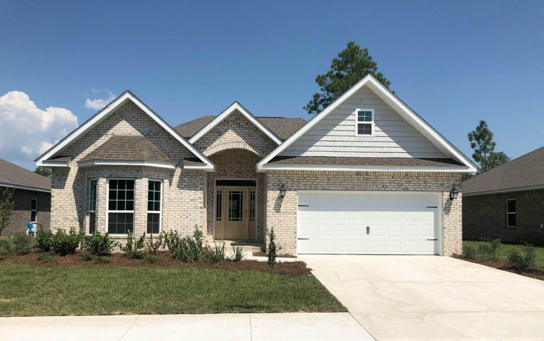 Under Construction. This Incredible Home Includes : Grey Cabinetry, Engineered Vinyl Plank  Floors throughout the entire home with only carpet in the bedrooms, Granite In Kitchen & Baths, Stainless Steel Appliances, Tile Shower In Master, Full Irrigation System, Brushed Nickel Plumbing and Lighting, Tons of Crown Molding, Decorative Glass Front Door and SOOO much more. Peach Creek is centrally located between Panama City Beach and Destin with an approximate 10 minute drive Seaside Beach, and 5 minute drive to nearest Publix! Only 20 min drive to fabulous Pier Park In Panama City Beach with tons of Shopping Restaurants and Entertainment.