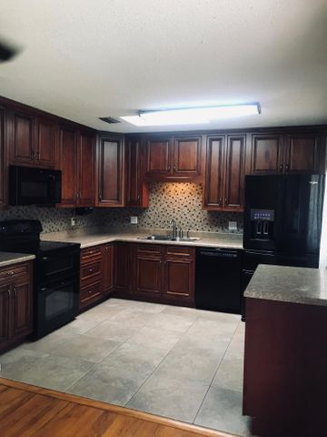 Remodeled Kitchen with Custom Cabinets
