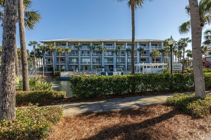 Do not miss out on this tastefully decorated gulf view condo in the heart of Gulf Place.  This updated one bedroom unit is located steps from the pool, beach access as shopping and dining.  You will enjoy Quartz countertops, stainless appliances and vinyl PVC plank flooring.  The A/C is around 3 years old and the building was painted in recent years.  Gulf Place offers 3 pools, tennis courts and shuffleboard for you and your guests.  The cost to own is around $940.00 a month not including a mortgage for the current owner.