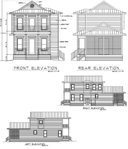 This NEW HOME Package is to be built in Point Washington, a fast growing community close to schools, beaches and 30a life. Lot is located in a non-HOA area of Point Washington and neighborhood offers bay access and launches. This ''to be built'' home plan includes 3 BR/3 BA with open floor plan and screened lanai. Plan may be customized to fit your needs. 10' Ceilings on 1st floor, 9' ceilings on 2nd floor. New construction offers all the new hurricane tie-downs, high impact windows and doors, 2x6 construction with state of the art insulation, hardi board siding that adds to the buildings beauty and integrity and much more.  Video for craftsmanship and options to come soon.