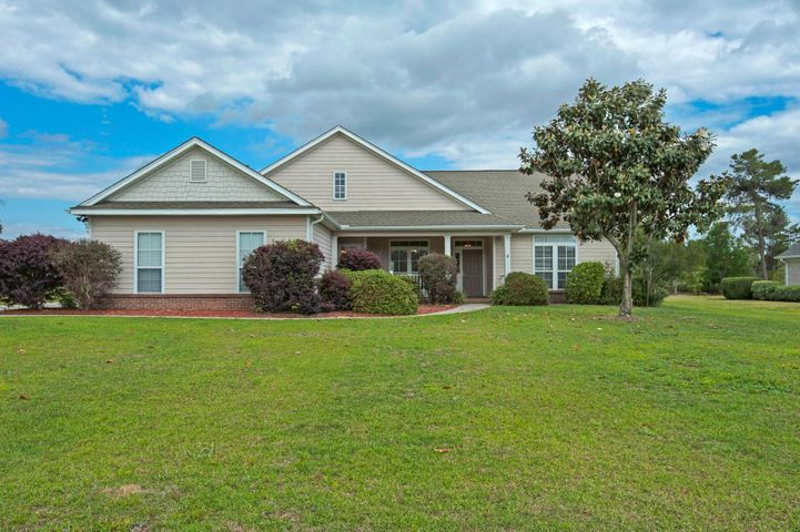 Welcome Home!! Take a look at this charming home with hardy board siding and some brick,