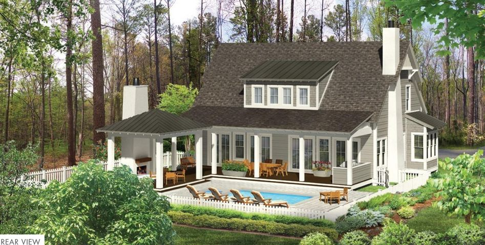 Entered for Comp Purposes Only. The Weatherly, a Cape Cod style floor plan, boasts an abundance of outdoor living space, with 2 covered porches, summer kitchen, cabana with outdoor fireplace, and a private pool! This plan offers 4 bedrooms, 4.5 baths and a 2-car attached garage.The kitchen, with a pantry and center island, opens to the large great room and is adjacent to a breakfast nook. Featuring a first floor Master Suite with 3 bedrooms upstairs, this thoughtfully designed floor plan offers plenty of space for family and guests. Interior features include quartz countertops in kitchen, Carrera marble counters in baths and utility, a designer lighting package, solid core doors, engineered wire-brush hardwood flooring in living areas, porcelain tile in baths, and premium carpet in bedrooms. Other upgrades include Wolf sub-zero package and golf cart garage. The Watersound Origins community is a wonderful neighborhood full of amenities including the Village Commons pool & fitness center, miles of nature trails, dock access to Lake Powell, unlimited golf and much more.  **Pricing for inventory homes include lot premiums and may include optional upgrades. Added options/upgrades and pricing are subject to change.   Please check with your Watersound Origins Sales representative for the latest upgrades and pricing for this home.