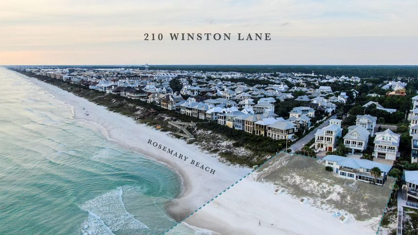 Incredibly rare chance to own 166 feet of water frontage on the Gulf of Mexico in the highly sought-after east end 30A. Representing the pinnacle of 30A gulf-front living, this site is the widest beach front property available in South Walton. Situated adjacent to Rosemary Beach, this estate is located in the most desired area in the market. The position of the property allows for truly unparalleled sweeping sunset views over the gulf. The width of the property boasts the ability for every room in the home to experience breath-taking views of the sugar white sands and emerald waters. Opportunities of this nature are extremely unique. The charming 1940s beach cottage on site offers an a large kitchen, roomy dining area, oversized living room , 5 bedrooms and 4 bathrooms. Family gatherin can be enjoyed throughout the spacious living areas, porches and delightful outdoor spaces. Stunning views of the Gulf of Mexico are enjoyed throughout the property.  The future land use category is neighborhood infill, presenting abundant development opportunities. The site is a one-of-a-kind chance to build a very wide beach front estate. A future home on this site would allow every room to experience water front living unlike any other property in the area. The opportunity also exist to build multiple structures on the property.
