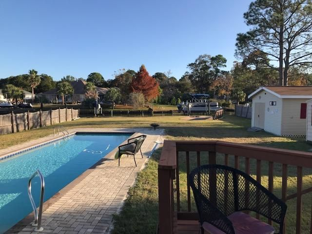 Updated Waterfront Pool Home!