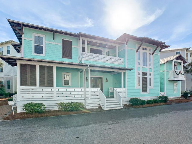 INVESTOR ALERT! 88k PROVEN RENTAL HISTORY. Privacy awaits you at 39 Sailfish Street. Welcome to a thoughtfully planned residence, located on one of the largest lots in Seacrest Beach, close to the 12,000 sq. ft. Lagoon pool and conveniently located close to dining, shopping and activities. This gracious home is light-filled and features its space that is maximized for entertaining. With a private oasis outdoors and creatively planned features indoors, there is space for all. Each bedroom features an en-suite bathroom in the main home and a private carriage house features own separate entrance, so there are multiple opportunities from an investment standpoint. This combination is rarely found in Seacrest Beach