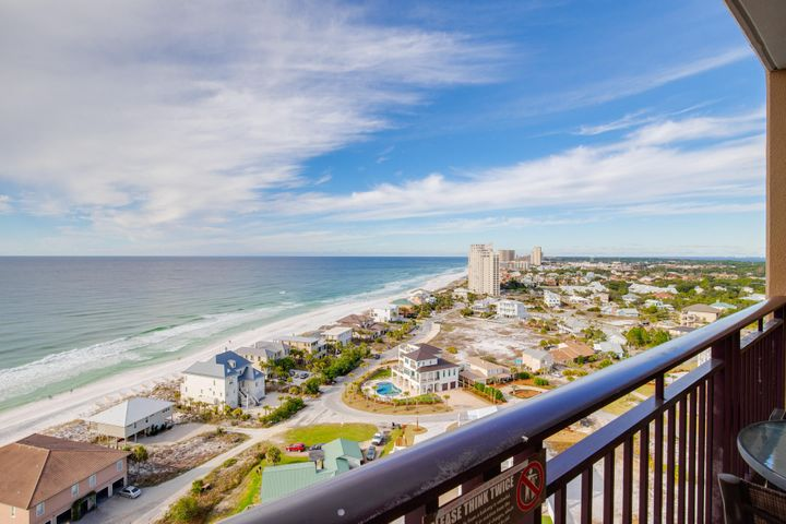 16th floor, WEST FACING, 2BR/2.5BA in the best-renting building - in the area's nicest resort. Fully furnished and a great rental if so desired. Walk right out to the beach and fabulous pool area or hop a tram and enjoy everything Sandestin Resort has to offer: 73 holes of championship golf, tennis center, miles of bike paths and the entertainment of the Village of Baytowne Wharf.