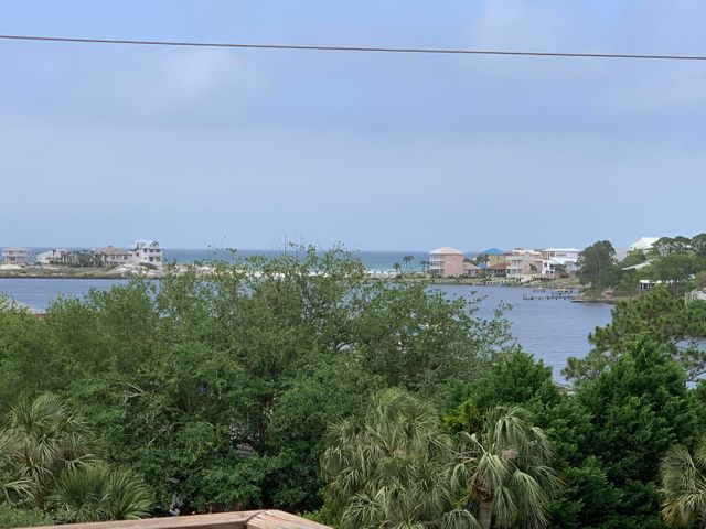 View from balcony of Eastern Lake and the Gulf