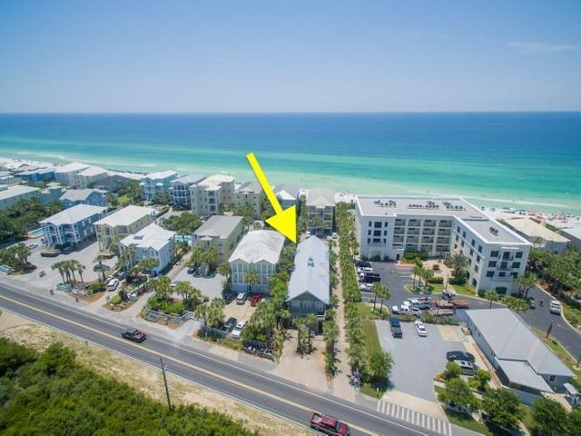 Strong income projection of over 200,000 (100K per unit) for this unique, one of a kind 30A Beach home. The property consists of two spacious single level units each offering 3BR's w/bunks and sold fully furnished, rental ready. Owner recently replaced both HVAC units with the top of the line beach-protected units and new commercial washers and dryers in both units. Prime location south of 30A, steps to the perfect white sand beach and a short bike ride to Seaside. Create memories of a lifetime enjoying the Gulf views, Private Pool, and interior space large enough for that special family reunion. There are too many upgrades/features to list here so come take a look, you'll be glad you did.