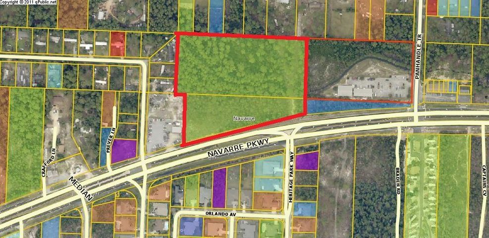 Potential buyers and agents please note...This MLS is for the entire 8.11 acre parcel which is subdivided north and south.southern parcel ID is 22.2S.26.0000.02000.0000670 feet of Hwy frontage and a 41,000 traffic count daily. This property is versatile and highest and best use includes hotel/motel, restaurant, general retail, office/warehouse space, housing development, etc.
