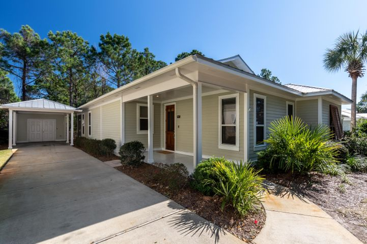 Motivated seller has reduced over $25K for quick sale. Video tour in photos. This freshly renovated 4 bedroom cottage is your opportunity to live on Sandestin Golf and Beach Resort! The best features of this split floor plan include a renovated kitchen with new LG stainless appliances, a large master suite with dual walk-in closets, a second Master bedroom, fresh paint, new ceiling fans and bath fixtures, and tile flooring throughout. You'll love relaxing in the serenity of your screened back porch overlooking one of the resort's many nature preserves. There's also a golf cart sized garage ideal for parking and added storage. With access to this area's best beaches, golf, tennis, marina, shopping, and dining you'll rarely even need to leave the resort.