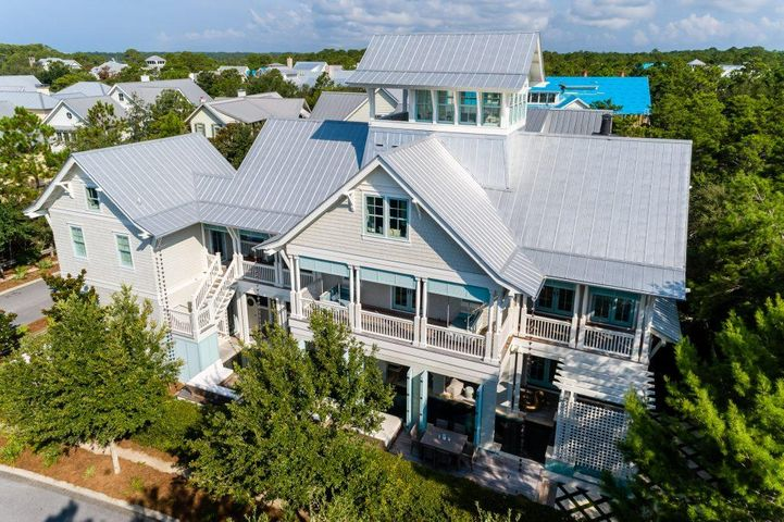 Front of House - Aerial View
