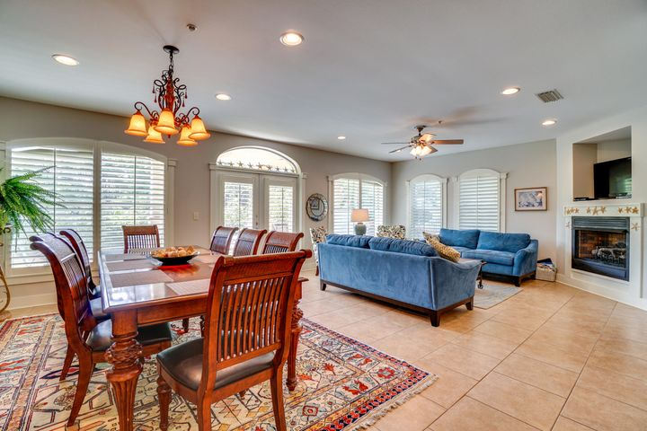 Own this Beautiful First Floor 3 Bed, 3 Full Bath Condo on 30A in Seagrove Beach! This 2,196 sq ft condo has Stainless Appliances, White Cabinetry, Tile Floors, Granite Countertops, Central Island in kitchen, an Oversized pantry and a Huge Open Dining Room/Living Room offering lots of natural light. Sea View Villas includes plenty of Guest Parking, Well Maintained Landscaped Grounds, Shared Pool, Community BBQ Grills and Deeded Private Beach Access. Port Washington State Forest Nature Preserve sits behind. All just steps away from Hiking Trails, Shops, Dining, a 26 mi Bike Path, Coastal Dune Lakes, and more 30A favorites! Buyer to verify all measurements.