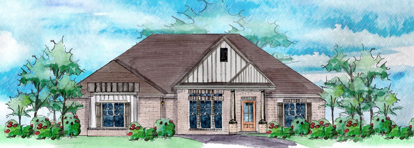 This beautiful Richmond plan is an open concept with 4 bedrooms/3 baths.  Huge master bath and closet are a must-see!   Includes granite countertops, open family room, formal dining, mud room, dedicated laundry room and 2 car garage.  Engineered wood and tile throughout.