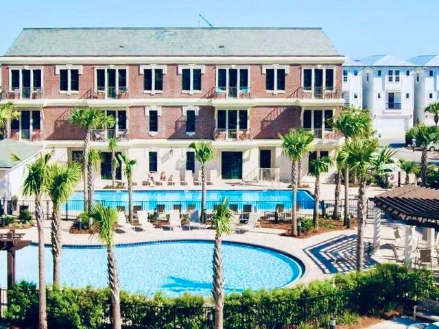 BETTER THAN NEW!  THIS TOTALLY RENOVATED STUDIO IS JUST WHAT YOU NEED FOR THE PERFECT WEEKEND OR LONG VACAY!  SO CONVENIENT TO ALL YOUR FAVORITE RESTAURANTS AND SHOPPING AT ROSEMARY, SEACREST, ALYS, AND WATERSOUND BEACHES!  THE BEST KEPT SECRET ON 30A. PARK 20FT FROM YOUR FRONT DOOR AND THE POOL AND LAUNDRY IS JUST DOWN THE HALL!  NO ELEVATORS! THIS IS THE ONLY BLDG THAT WALKS OUT TO THE POOL. LOW ASSOCIATION DUES AND TAXES UNDER 1000!  ALL NEW FURNISHINGS AND ACCESSORIES MAKE THIS UNIT JUST LIKE NEW...AND RENTAL PROJECTIONS ARE UP TO 30K DEPENDING ON OWNER USAGE.  PETS ARE ALLOWED AND WELCOMED.  ASSOC. OFFICE IS NEXT DOOR SO YOU HAVE A VERY QUIET FLOOR IN A HIGHLY POPULAR AREA.  TRAM TO DEEDED BEACH ACCESS THROUGH SEACREST BEACH.  THIS IS COMPARABLE TO A LARGE HOTEL ROOM WITH KITCHINETTE.