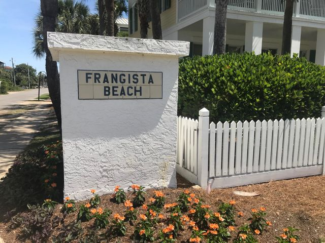 Brand new construction in Frangista Beach by premier builder, Huff Homes of Florida. This coastal cottage will boast quality & comfort that Huff Homes is known for. A few interior amenities include hardwood floors in main areas, kitchen island, Bosch appliance package, quartz counter tops through out, & coastal trim details. In addition to the 4 Bedrooms & 3.5 Baths there is a spacious 2nd floor sitting / bonus area & screened back porch. Home has deeded beach access at both Hollywood & Miami St as well as access to community pool