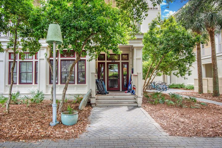 INVESTOR SPECIAL!! Best priced Condo in Watercolor. Corner Unit next to the shops at Watercolor. This unit appraised for $1,000,000 in March of 2017. This unit is 1806 sf per appraisal on the 1st and 2nd floors with 10' ceilings. The corner unit has plenty of windows and a large outdoor balcony. The unit has pine floors throughout with granite kitchen counter tops and a great open plan. This unit is priced almost $100/sf lower than any condo in Watercolor which range from $640/sf to over $840/sf. Don't miss out on this premier unit steps away from the main Watercolor Pool and Beach Club.