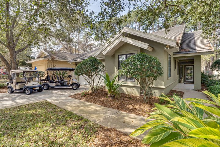 Golf Carts included in the Sale of the Home