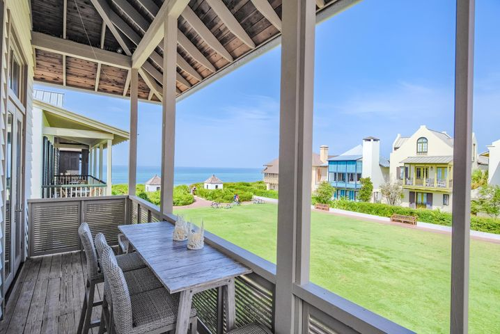 Perfectly situated on the highly coveted, meticulously maintained WESTERN GREEN in the HEART of Rosemary Beach. Picturesque GULF VIEWS from this 4BD/4.5BA DIAMOND of a home will set your soul at peace. Enjoy community events on the Green, or liven up the mood at The Pearl in 30A's MOST PRESTIGIOUS dining and entertainment district NEXT DOOR! Owner's will enjoy ALL OF THE LUXURY of Rosemary Beach from ONE ULTIMATE LOCATION.NEWLY RENOVATED AND FULLY UPDATED HOME! Private pool w/ waterfall & light features make for an inviting oasis retreat after a day on the beach. Breathtaking views are maximized by reverse floor plan featuring dual living and Master upstairs. 3 Guest Room down. 2 Car Garage. Storage. Pearl Hotel perfect for overflow guests. Sold Turnkey. Rental Machine or 2nd Home Drea