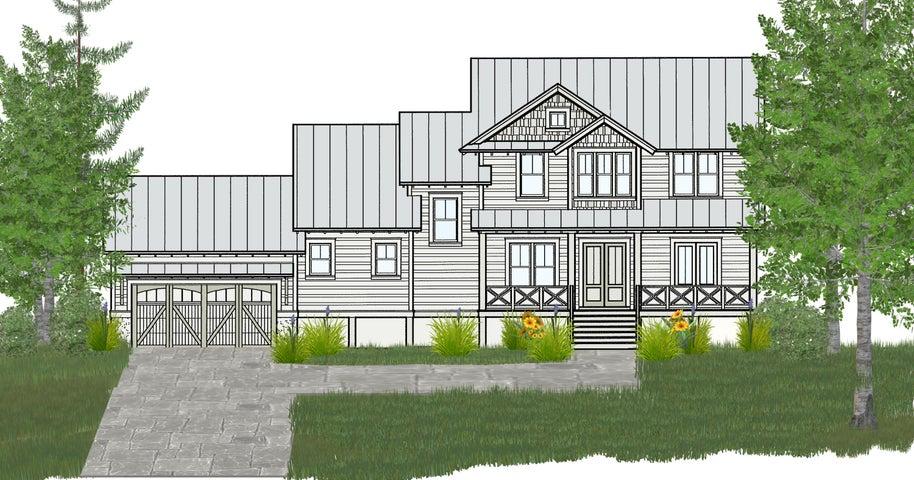 Sketch rendering of lot 12 floor plan