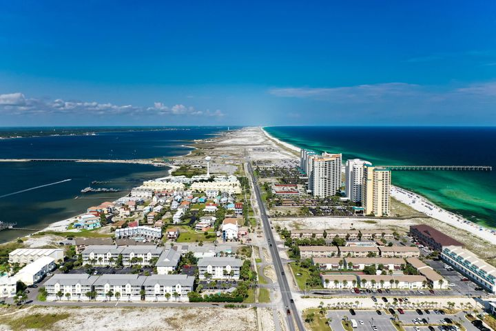 Incredible opportunity to own one of the last piece of commercial property on Navarre Beach. 140 linear feet of beach front at the Coastal Construction Control Line. Endless possibilities and favorable time to be part of this up and coming area.