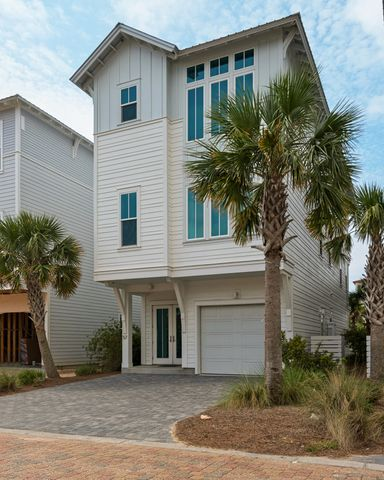 Don't miss out on this Gorgeous custom build home on 30A!  This home is located directly across Dune Allen beach access. Its never been on a rental program and meticulously maintained. Rental projections are over $140k! This home was designed by local architect Tyler Doin. Small details through out the home were clearly placed with intent to standout from other homes in the area. From the Surfboard ceiling fan in the bunk room to Cypress beams in the living room. Details abound. The 2nd and 3rd floors have wirebrushed walnut floors. If cooking is your passion. The kitchen with its  water fall silestone counter tops and gas stove will inspire you to create new recipes for your family and guests. Enjoy stunning sunsets, Gulf and 30A from both balconies. Come see your new home today!