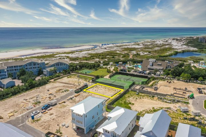 LOCATION LOCATION! Unobstructed gulf views are guaranteed with this incredible and rare location. Don't miss out on this unique opportunity to own the only lot in Prominence South with panoramic views overlooking the sugar white sands and sweeping coastal dunes of the Emerald Coast. Located steps from local restaurants, gorgeous resort-style pools, and endless amenities at the local town center 'THE HUB'.