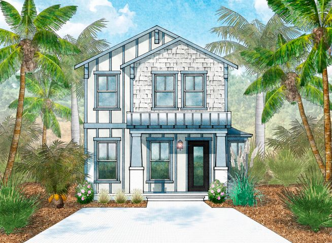 BRAND-NEW HOME TO-BE-BUILT. The perfect beach cottage can be yours in Serenity at Dune Allen. Nicely situated on the rolling dunes that give this 30A neighborhood its name, you can easily walk from it or take a golf cart to the new Dune Allen beach access. A short block from the neighborhood entrance, the beach access even offers parking and bathrooms. Plus your front porch is only a few houses up the dune from the neighborhood pool. The master bedroom is on the ground floor, with two bedrooms up plus a loft area. You can relax due to the home's strong construction, complete with hurricane-resistant windows and metal roof. Low HOA fees include landscape maintenance so when you come to the beach, you can play. Or opt to rent your beach house for additional income. Please confirm all info. PHOTOS ARE OF ALREADY SOLD HOME WITH THE SAME FLOOR PLAN. Ask about our Preferred Lender's Closing Cost Assistance.  Serenity at Dune Allen is a secluded community of coastal cottages, It is centrally located along 30A among the Beaches of South Walton, an area long celebrated for its eclectic cuisine, unique boutique shopping, scenic bike and foot paths and some of the most challenging golf courses the Gulf Coast has to offer. Easy access to Hwy 98, allowing you to explore nearby Destin or Panama City Beach. New 30A public beach access now open directly across from neighborhood entrance. Please contact us for more information.