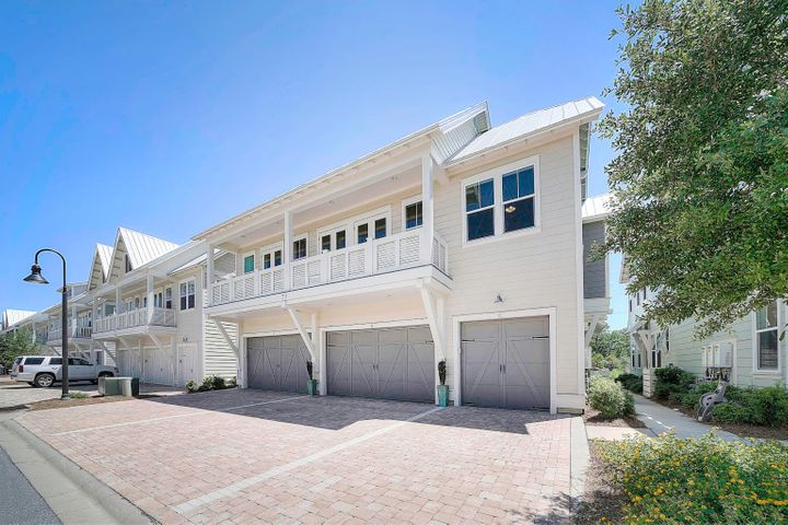 This premier location unit at Prominence on 30A is one you don't want to miss! The open Bahamas floor plan is designed for the whole family to enjoy. Luxurious finishings in the unit include wood tile flooring, 10ft  ceilings, granite countertops, plentiful windows, and so much more. The deck can be accessed by two sets of french doors from the living area. The unit can easily sleep 10 as the guest rooms include queen beds and a sleeper sofa in the living room. Enjoy the resort-style pool, fitness center, and beach shuttle service. Prominence is home to The Hub - one of the hottest venues on 30A with boutiques, restaurants, Luke Bryan's shop Shore Thing Cigars, stage, amphitheater, salons, and more. Gross Rental Projections: $40k! The golf cart is excluded but can be purchased separately