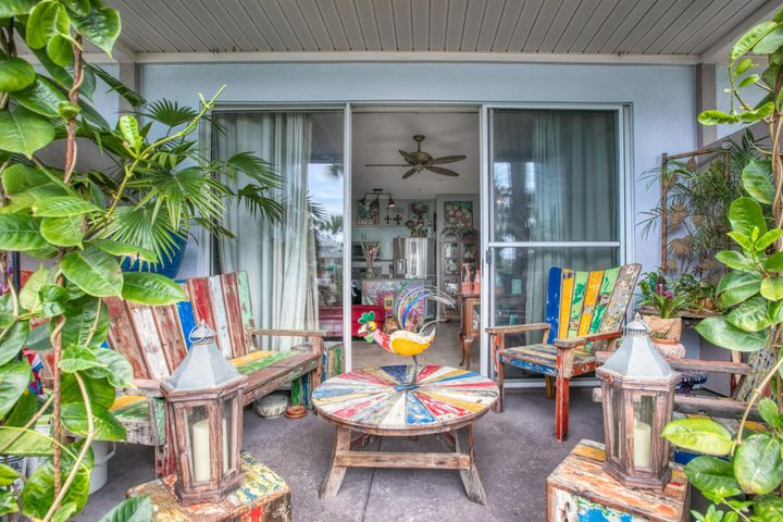 Cabana life is at its finest in this cute one bedroom unit on the ground floor.  Walk into this unit and get ready to see how fun and funky living at Gulf Place could be.  The updated kitchen is painted a fun turquoise color with brand new appliances, back splash and a copper farm house sink!  Don't miss the Bedroom with the natural shiplap wall and new floors.  The best spot is the ground level patio garden!  This spot offers amazing sunset views and steps away from the pool.  With deeded beach access, 3 pools, 2 hot tubs, tennis courts, shuffle board, corn hole and walking trails you will have plenty to explore in your fabulous condo on 30A!