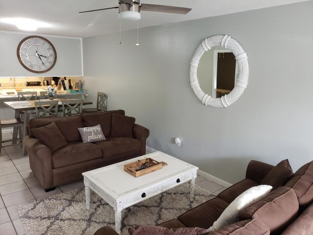 Updated and cozy townhouse in the heart of Santa Rosa Beach. This unit has been on the rental program with an amazing rental history while being very well maintained. This home is sold fully furnished and turn-key ready!